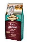 Carnilove Fresh - Carpe et truite - chats stérilisés