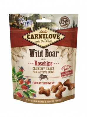 CARNILOVE Crunchy Snack - Sanglier et cynorhodons (200 g)