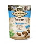 Carnilove Snack Semi-Moist - Friandise pour chien sardines et ail des ours (3x200g)