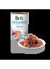 Pâtée pour chiens Brit Pate & Meat au saumon (400 g)