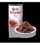 Pâtée pour chiens Brit Pate & Meat au bœuf (400 g)