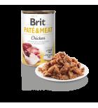 Pâtée pour chiens Brit Pate & Meat au poulet (400 g)