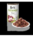 Pâtée pour chiens Brit Pate & Meat au canard (400 g)