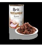 Pâtée pour chiens Brit Pate & Meat au lapin (400 g)