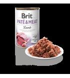 Pâtée pour chiens Brit Pate & Meat à l'agneau (400 g)