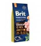 BRIT PREMIUM by Nature - Junior M (sac abîmé) 15 kg
