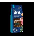 BRIT PREMIUM by Nature - Sensitive Lamb (sac abîmé) 15 kg