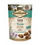Carnilove Snack Semi-Moist - Friandise pour chien, carpe et thym (3x200g)