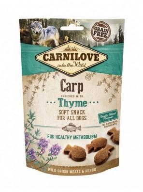 CARNILOVE Soft Snack - Carpe et thym, pour chien (200 g)