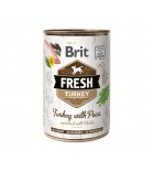 BRIT FRESH - CAN DOG - TURKEY WITH PEAS - 400G