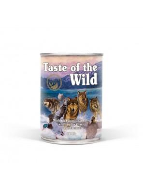 Pâtée pour chiens TASTE OF THE WILD Wetlands (390g)