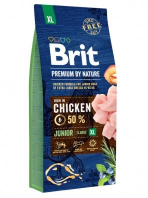 BRIT PREMIUM by Nature - Junior XL (sac abîmé) 15 kg