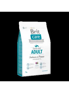 BRIT CARE Grain Free Adult Salmon & Potato (DLUO 07/2019) 3 kg