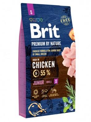 BRIT PREMIUM by Nature - Junior S (DLUO 11/2019) 8 kg