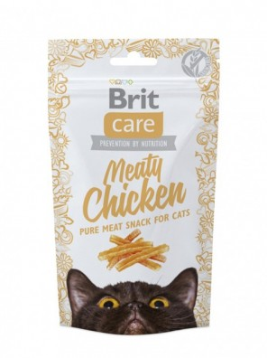BRIT CARE Chat - Meaty Snack Poulet (50 g)