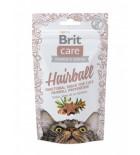 BRIT CARE Chat - Functional Snack - Boules de poils (50 g)