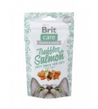 BRIT CARE Chat - Juicy Snack - Bouchées au saumon (50 g)