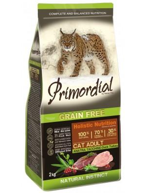 PRIMORDIAL Adult Cat - Canard & Dinde (400g) DLUO 01/2021
