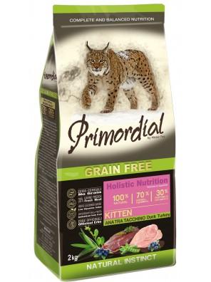 PRIMORDIAL Kitten - Canard & Dinde (400g) DLUO 01/2021