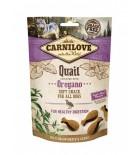 Carnilove Snack Semi-Moist - Friandise pour chien caille et origan (3x200g)