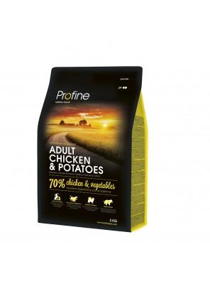 PROFINE DOG Adult - Chicken & Potatoes (sac abîmé) 3 kg