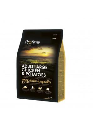PROFINE DOG Adult Large - Chicken & Potatoes (DLUO 06/2019) 3kg