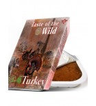 TASTE OF THE WILD Tray Turkey & Duck - Barquette pour chien à la dinde et au canard (390g)