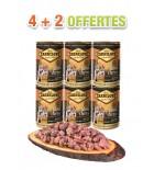 Carnilove Boîte chiot salmon & turkey (lot de 6x400g)