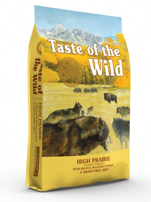 TASTE OF THE WILD High Prairie (sac abîmé) 12,2 kg