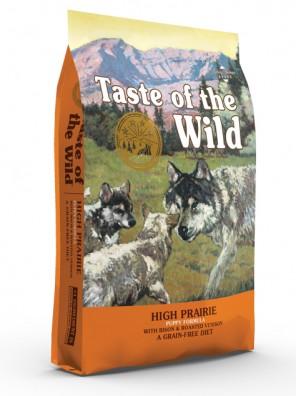 TASTE OF THE WILD High Prairie Puppy (+ pack découverte OFFERT)