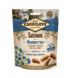 Carnilove Crunchy Salmon & Blueberries - Friandise pour chien au saumon et aux myrtilles (200 g) abîmé