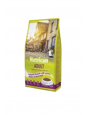 NUTRICAN ADULT CHAT (sac abîmé) 10 kg DLUO 12/2019