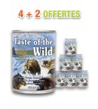Pâtée - Taste of the Wild - Pacific Stream - (lot de 6x390g)