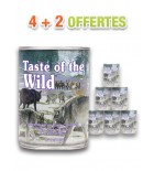 Pâtée - Taste of the Wild - Sierra Mountain - (lot de 6x390g)