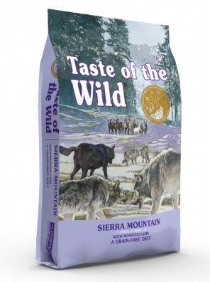 TASTE OF THE WILD Sierra Mountain (sac abîmé) 12,2 kg