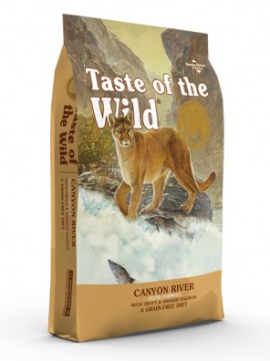 TASTE OF THE WILD Canyon River Cat (+ pack découverte OFFERT)