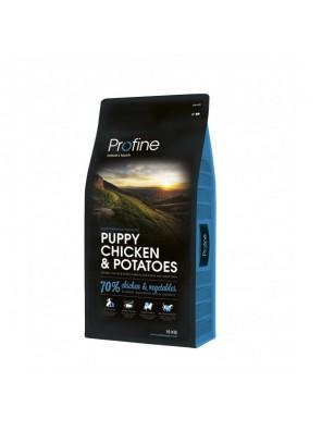 PROFINE DOG Puppy - Chicken & Potatoes (sac abîmé) 15kg