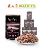 Profine boîte chien - Salmon & Chicken - (lot de 6x400g)