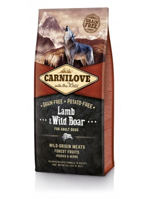 CARNILOVE DOG Lamb & Wild Boar, Adult