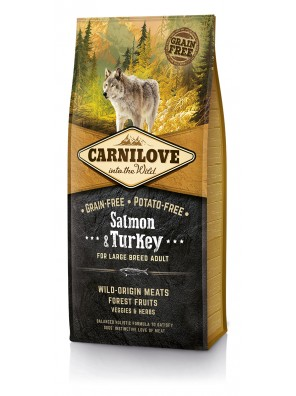 CARNILOVE DOG Salmon & Turkey, Large Breed Adult