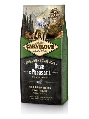 CARNILOVE DOG Duck & Pheasant, Adult