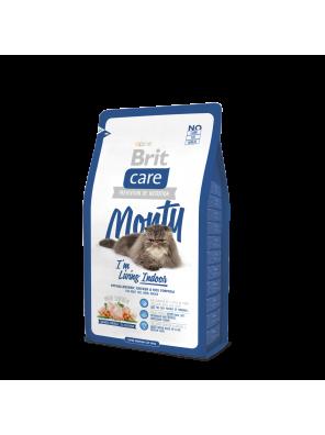 Brit Care Cat MONTY I'M LIVING INDOOR (chat d'intérieur)
