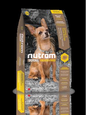 Nutram - Total T28 Sans Céréales - Saumon et truite - Chiens de petites races