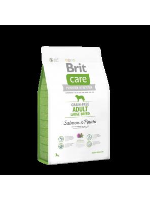 BRIT CARE Grain Free Adult Large Salmon & Potato