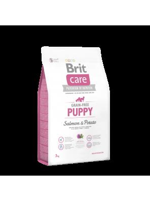 BRIT CARE Grain Free Puppy, Salmon & Potato