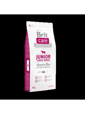 BRIT CARE Junior Large, Lamb & Rice (sac abîmé) 12 kg