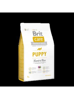 BRIT CARE Puppy, Lamb & Rice (sac abîmé) 3 kg