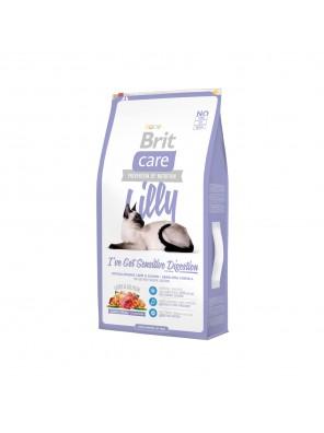 BRIT CARE CAT Lilly, digestion sensible (sac abîmé) 7 kg