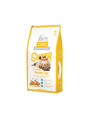 Brit Care Cat SUNNY Beautiful Hair (sac abîmé) 7 kg