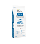 Lot de 2 sacs BRIT CARE Adult Large Lamb & Rice (sac abîmé) 12kg